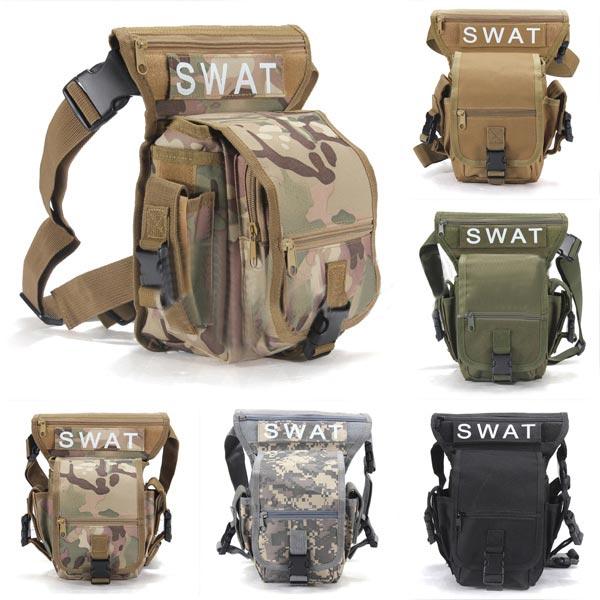 Multifunktions Udendørs Leg Bag Utility Thigh Fanny Pack Vandring Jagt Camping & Udendørs Aktiviteter
