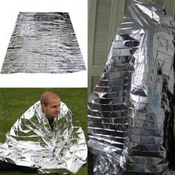 Mylar Vattentät Emergency Rescue Space Folie Värmefilten 83