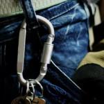 Outdoor Aluminum D-Ring Screw Locking Carabiner Hook Clip Key Chain Camping & Hiking