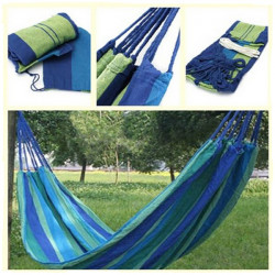 Outdoor Camping Hängematte tragbare Reise Strand Stoff Swing Beds