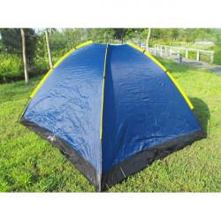 Udendørs Camping Taped Regntæt Super Large Telt til 3-4 Personer