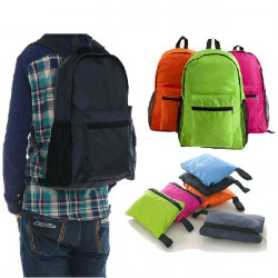 Outdoor Camping Traveling Cycling Folding Waterproof Backpack