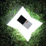 Udendørs Solar Vandtæt Oppustelige Folding Camping Lys Lampe Camping & Udendørs Aktiviteter
