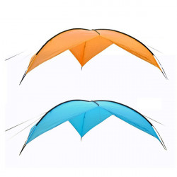 Outdoor Sun-Shading Tentorial Shade-Shed Canopy Anti-UV Beach Tent