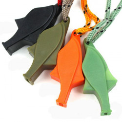 Outdoor Survival life-saving Whistle Dolphin Whistle With Strap