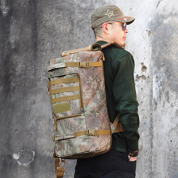 Outdoor Tactical Military Trekking Camping Backpack Camoflage Hiking Bag Camping & Hiking