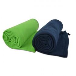 Outdoor Ultralight Fleece Sleeping Bag Liner  Envelope Style