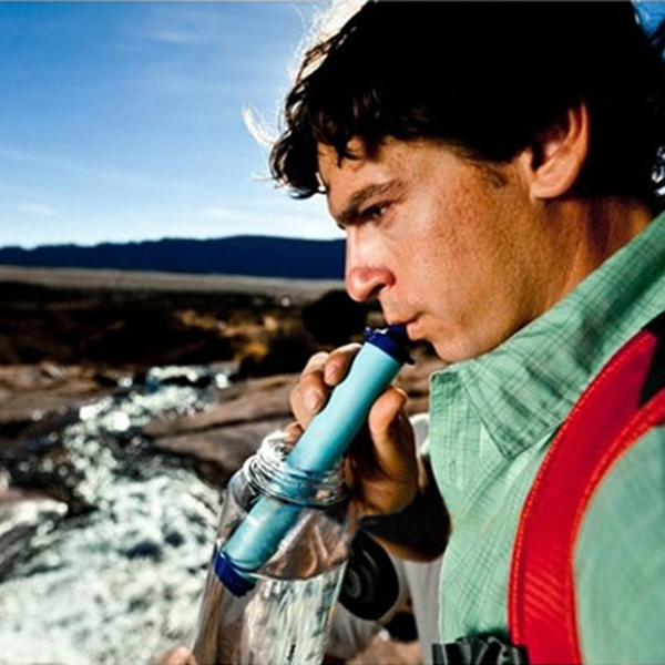 Outdoor Water Purifiers Straw Personal Filter Drinking Pipe Camping & Hiking