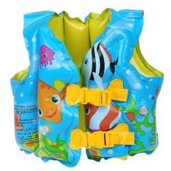 PVC Schaum Muster Sortierte Schwimmweste Weste für Kinder Blau