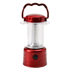 Portable 15 LED Camping Hiking Tent Lantern Light Lamp