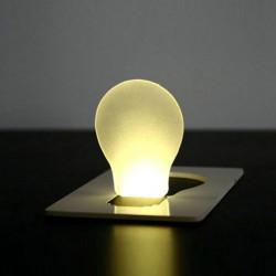 Bewegliche LED Karten Licht Taschenlampe Portemonnaie Notlicht