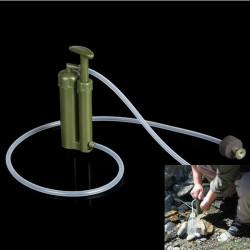 Bärbar Plast Keramisk Vattenfilter Reningsverk Överlevnad