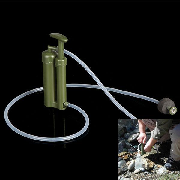 Bærbar Plast Keramisk Vand Filter Purifier Udendørs Survival Camping & Udendørs Aktiviteter