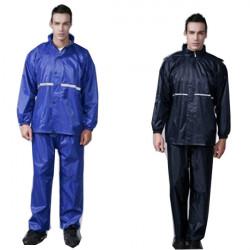 Regenmantel Anzug Reflektierende Regen Mantel Outdoor Zubehör