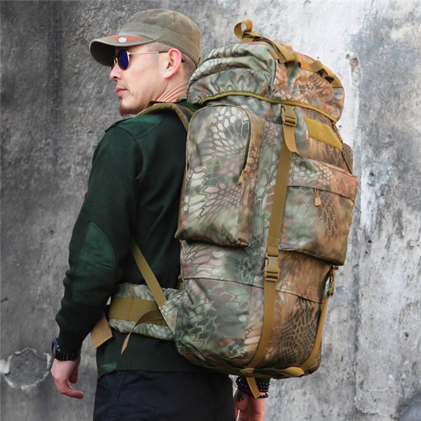 Tactical Military Trekking Camping Wandern Rucksack Tarnung Rucksack Outdoor & Wandern