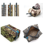 Waterproof Camo Traveling Gym Laundry Shoes Storage Bag Pouch Camping & Hiking