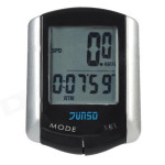 11 Function LCD Wire Bike Bicycle Computer Speedometer Odometer Cycling