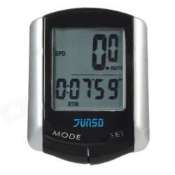 11 Funktion LCD-Wire Cykel Dator Hastighetsmätare Vägmätare