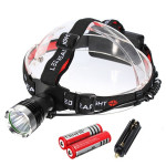 1200 Lumens CREE XM-L T6 LED Bike Rechargeable Headlamp Headlight Cycling