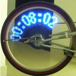 14 LED 40 Designmönster Cykel Wheel Spoke Ljus