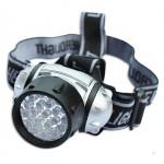 19-LED Strålkastare 19 Lysdioder Bulb 4-Läge Strålkastare Ficklampa Lampa Cykel