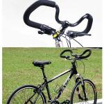 1x Bicycle Handlebar Grip Sponge Cover Bike Foam Rubber Black Cycling