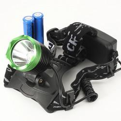 2000LM CREE XM-L T6 LED Strålkastare Ficklampa Lampa Grön