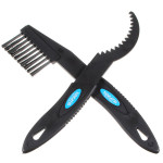 2Pcs Bicycle Chain Wheel Cleaning Brushes Cleaner Scrubber Tool Cycling