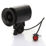 2 X Waterproof 6 Sound Bicycle Electric Horn Bell Speaker Alarm Siren Cycling