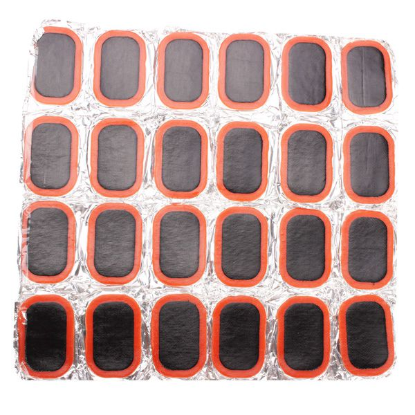 32 x 50mm Rubber Patch For Bike Bicycle Tire Tyre Repair 24pcs Cycling