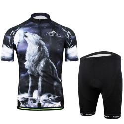 3D Cycling Bike Bekleidung Sportswear Fahrrad Tuch Anzug Trägerhose