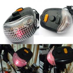 3 i 1 7-Led Cykel Bike Brake Turn Lys Horn