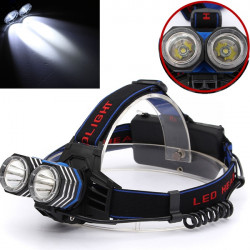 4000LM 2X CREE XML T6 LED Headlight Headlamp Headlight Head Lamp Light