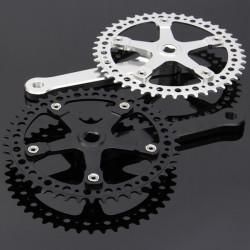 46T 48T Single Speed Fixed Gear Road Bike Compact Crankset