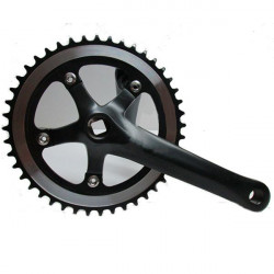 46T Single Speed ​​Fixed Gear Track Road Bicycle Bike Crankset