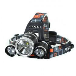 5000Lm CREE XM-L T6 LED 3T6 Uppladdningsbara Strålkastare Ficklampa