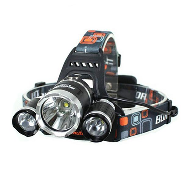 5000lm CREE XM L T6 LED 3T6 wiederaufladbare Scheinwerfer Scheinwerfer Fackel Fahrrad
