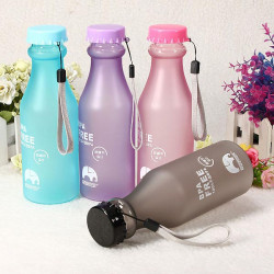 500ml 17oz BPA Free Cycling Bike Sports Water Bottle Plastic