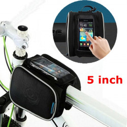 5 inch Roswheel 1.8L Bicycle Bike Pouch Pannier Front Tube Bag