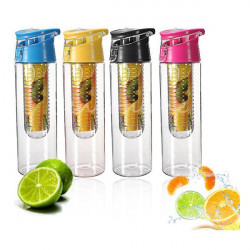 800 ML Sports And Outdoor Plastic Bottle Cup Lemon Cup Water Cup