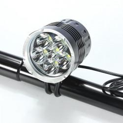 8400Lm 6x CREE XM-L T6 LED Bike Cykelbelysning 5-Läge