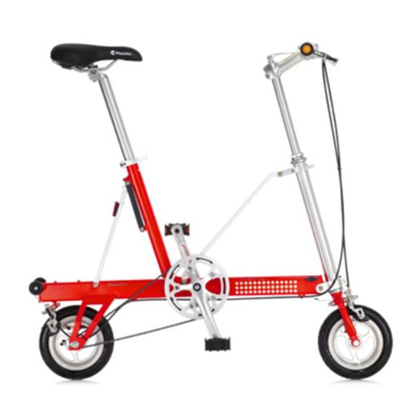 8 Tums Hjul HopHopfällbar Cykel Mini Cykel Aluminum Alloy Frame Cykel