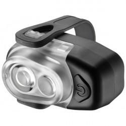 AKSLEN 2 LED 3-Läge Cykel Front Ljus Bike Ficklampa