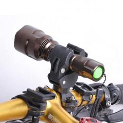 Justerbar Cykel Lamphållare Universal Ljus Clip Cykel Ljudklipp