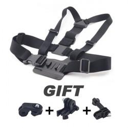 Adjustable Chest Strap Belt Stap Mount for Hero Sports Cameras