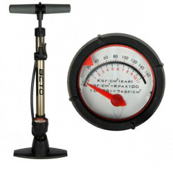 BETO Portable Bicycle Tyre Inflator Air Pump With Pressure Gage