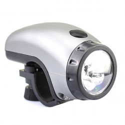 Bicycle Bike 5 LED White Beam Front Torch Headlamp AAA Bracket