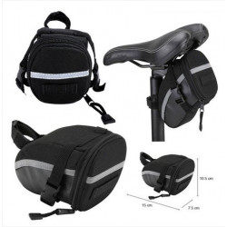 Bicycle Bike Cycling Outdoor Portable Saddle Bag Back Seat Bag