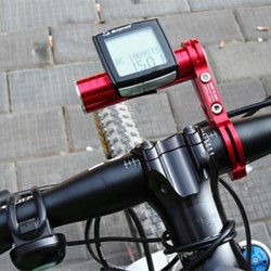 Bicycle Bike Handlebar Aluminium Extender Flashlight Computer Holder