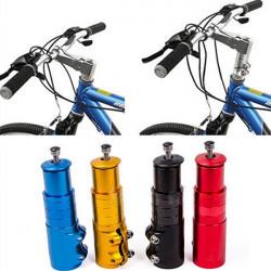 Cykel Bike Styr Fork Stem Extender Riser Kurs Op Adapter
